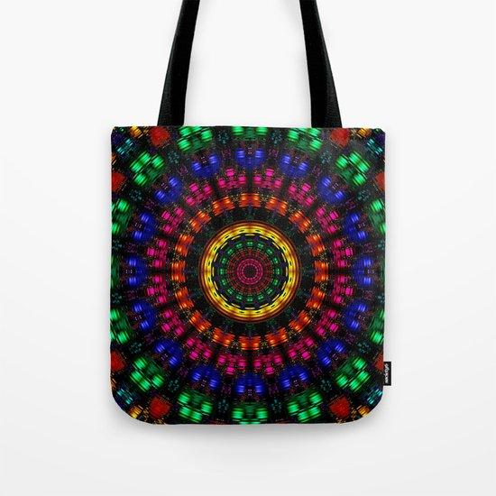 Rippling Colors Tote Bag