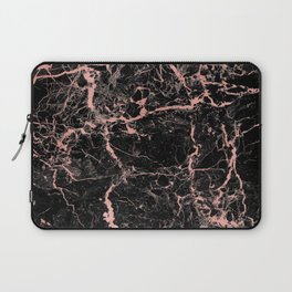 Marble Rose Gold - Someone Laptop Sleeve