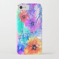 hawaiian iPhone & iPod Cases featuring Hawaiian Heat by Holly Sharpe