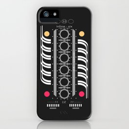 INLINE SIX iPhone Case