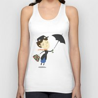 mary poppins Tank Tops featuring Mary Poppins by Rod Perich