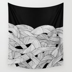 The tangled sea Wall Tapestry