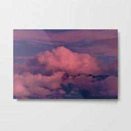 Winter Storm Clouds Metal Print