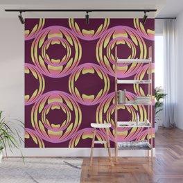 spheres pattern Wall Mural