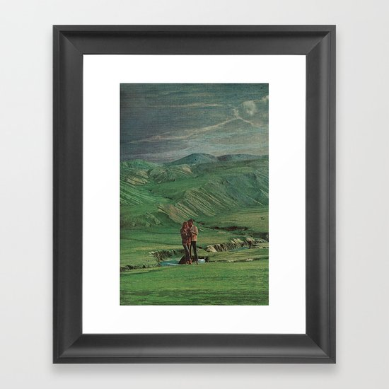 love's young dream Framed Art Print
