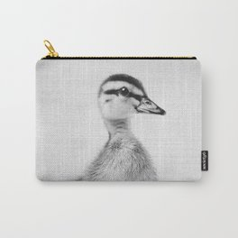 Duckling - Black & White Carry-All Pouch