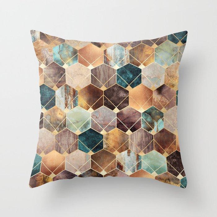 Natural Hexagons And Diamonds