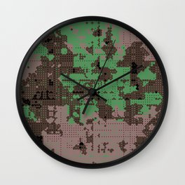 LOONZ CAMO Wall Clock