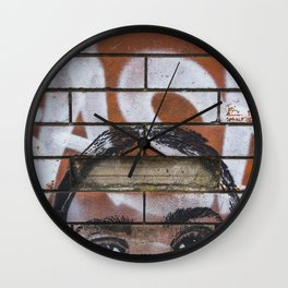 Private Property Wall Clock