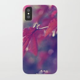 feeling like fall iPhone Case