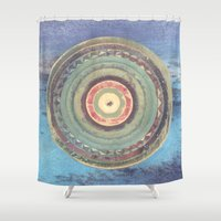 holiday Shower Curtains featuring Holiday by Laurie McCall