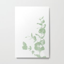 Eucalyptus Duotone 01 Metal Print
