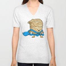Captain Pancake Unisex V-Neck