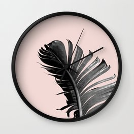 PALM LEAF Wall Clock