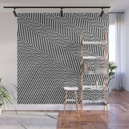Black white new Mosaic Wall Mural