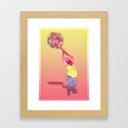 Modern Warrior 2 Framed Art Print