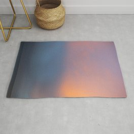 Colours of Sunset Rug