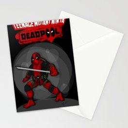Teenage Mutant Ninja Deadpool Stationery Cards