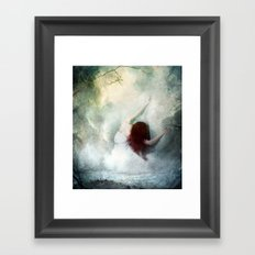If Heaven Would Have Me Framed Art Print