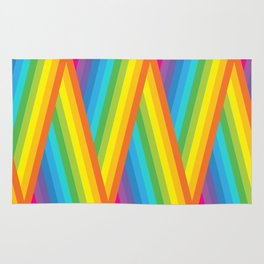 Rainbow Stripes Rug