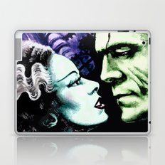 Bride of Frankenstein Monsters in Love Laptop & iPad Skin
