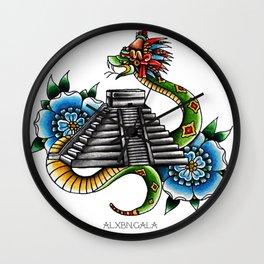 El Descenso de Kukulcan Wall Clock