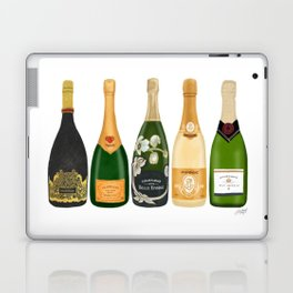 Champagne Bottles Laptop & iPad Skin