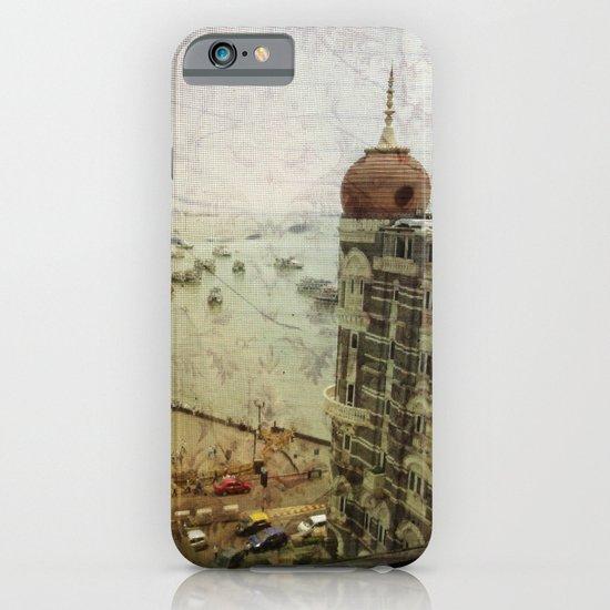 Taj Mahal Palace hotel and the Gateway of India monument, Mumbai, India iPhone & iPod Case