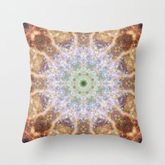 Space Mandala no21 Throw Pillow