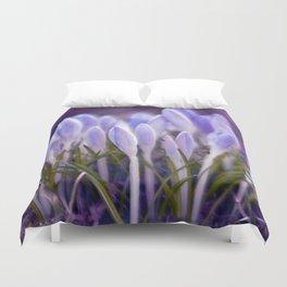Ultra Violet Sound Duvet Cover