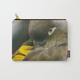 Burrowing Parrot Carry-All Pouch