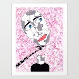 Selfie-Stick Art Print