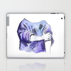 Rolled up Laptop & iPad Skin