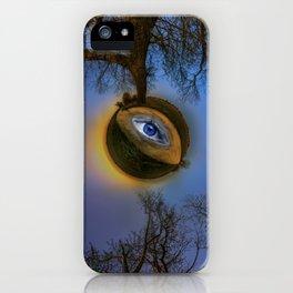 Large Tree - Tiny planet iPhone Case