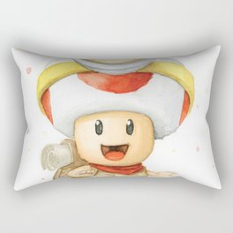 Captain Toad Rectangular Pillow