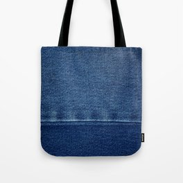 Blue Jean Texture V4 Tote Bag