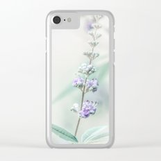 Lavender 4 Clear iPhone Case