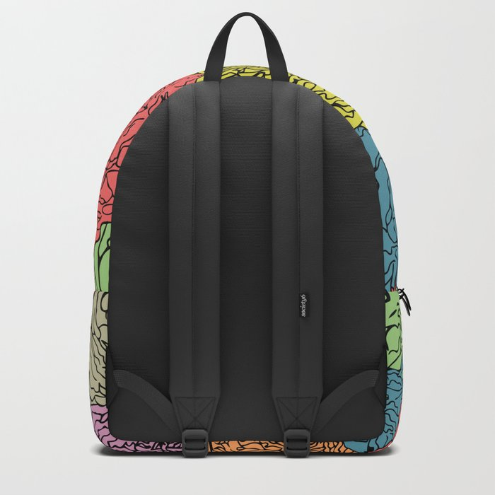 LONG LIVE THE SPRING! (abstract tropical flowers) Backpack