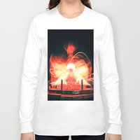 ufo Long Sleeve T-shirts featuring UFO by Teodora Roşca