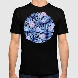 Hawaiian Pattern T-shirt