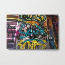 Sour Graffiti Metal Print