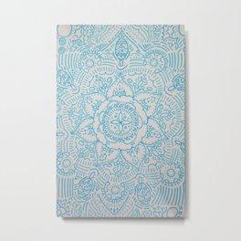 FLOWER DESIGN Metal Print