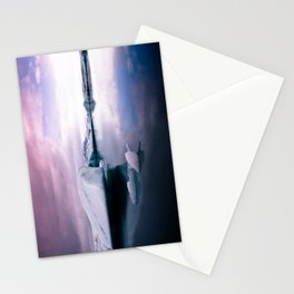 glacial lagoon Stationery Cards