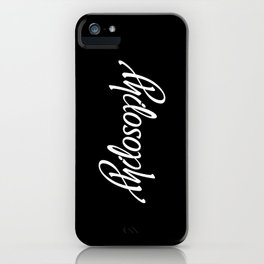 Philosophy iPhone Case