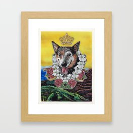 The Aussie Framed Art Print