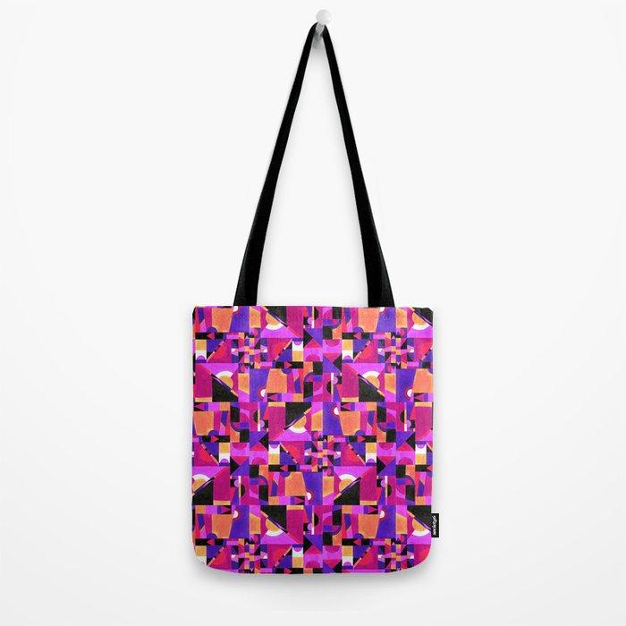 Geomtropy Tote Bag