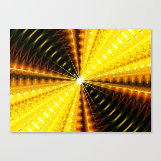 At the end of the light Canvas Print