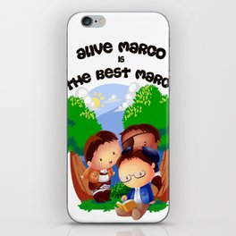 Deadline for Marco Bodt iPhone Skin