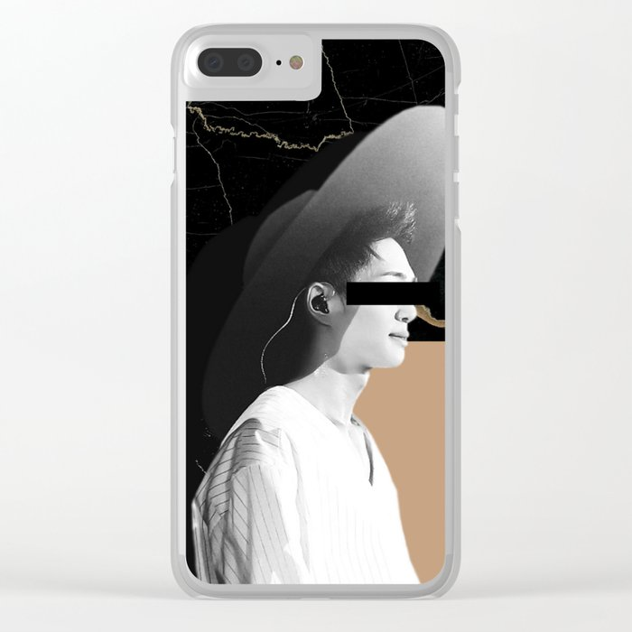 Hiding Clear iPhone Case