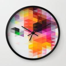 Rainfall 01 Wall Clock